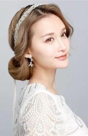花嫁森系新娘造型 2017绝美新娘发型