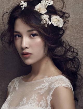 欧式新娘浪漫发型图片