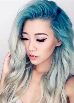 中短发挑染发型大全 2017流行挑染发色图片