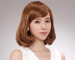 韩式中长梨花头 2017年最受欢迎发型