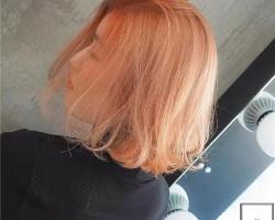 今年染发流行浅色系 外翘短发染发正大热