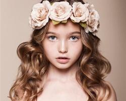 小女孩最新造型 儿童烫发发型