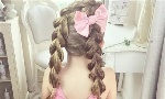5—12岁小女孩编发 儿童编发发型大全
