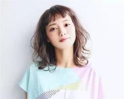 日式最新发型图片 显瘦修颜烫发